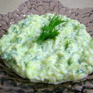 Kabak salatı
