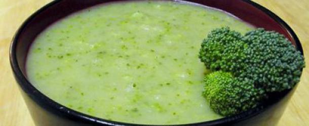 Brokoli şorbası