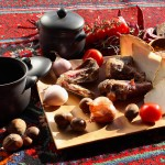 Piti bişirmək üçün xammallar hazırlanır