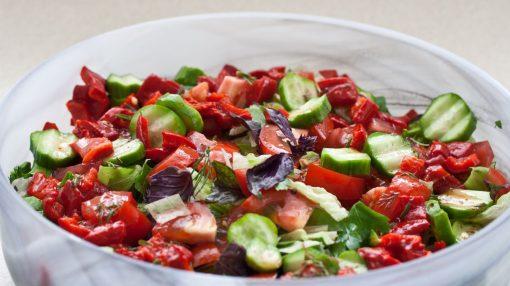 Qarışıq salat