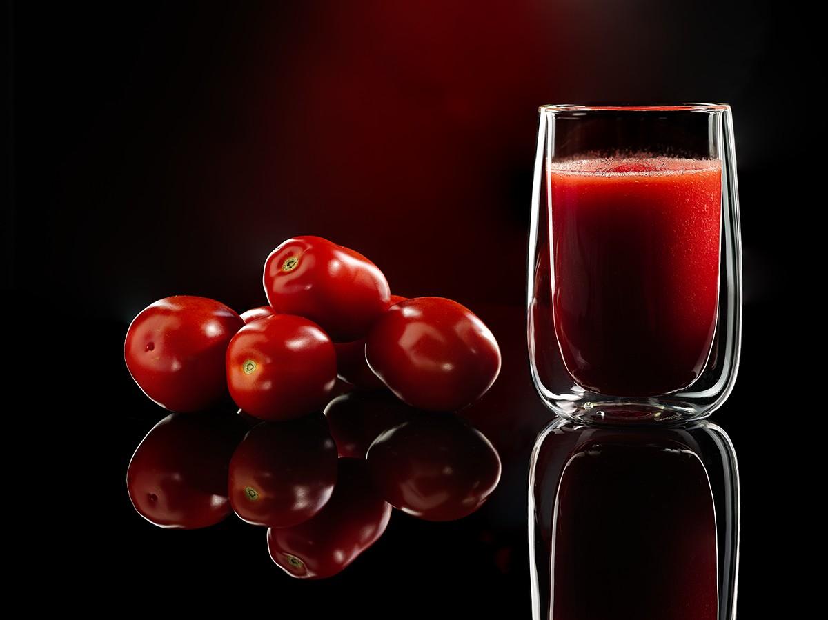 ev üsulu pomidor şirəsi