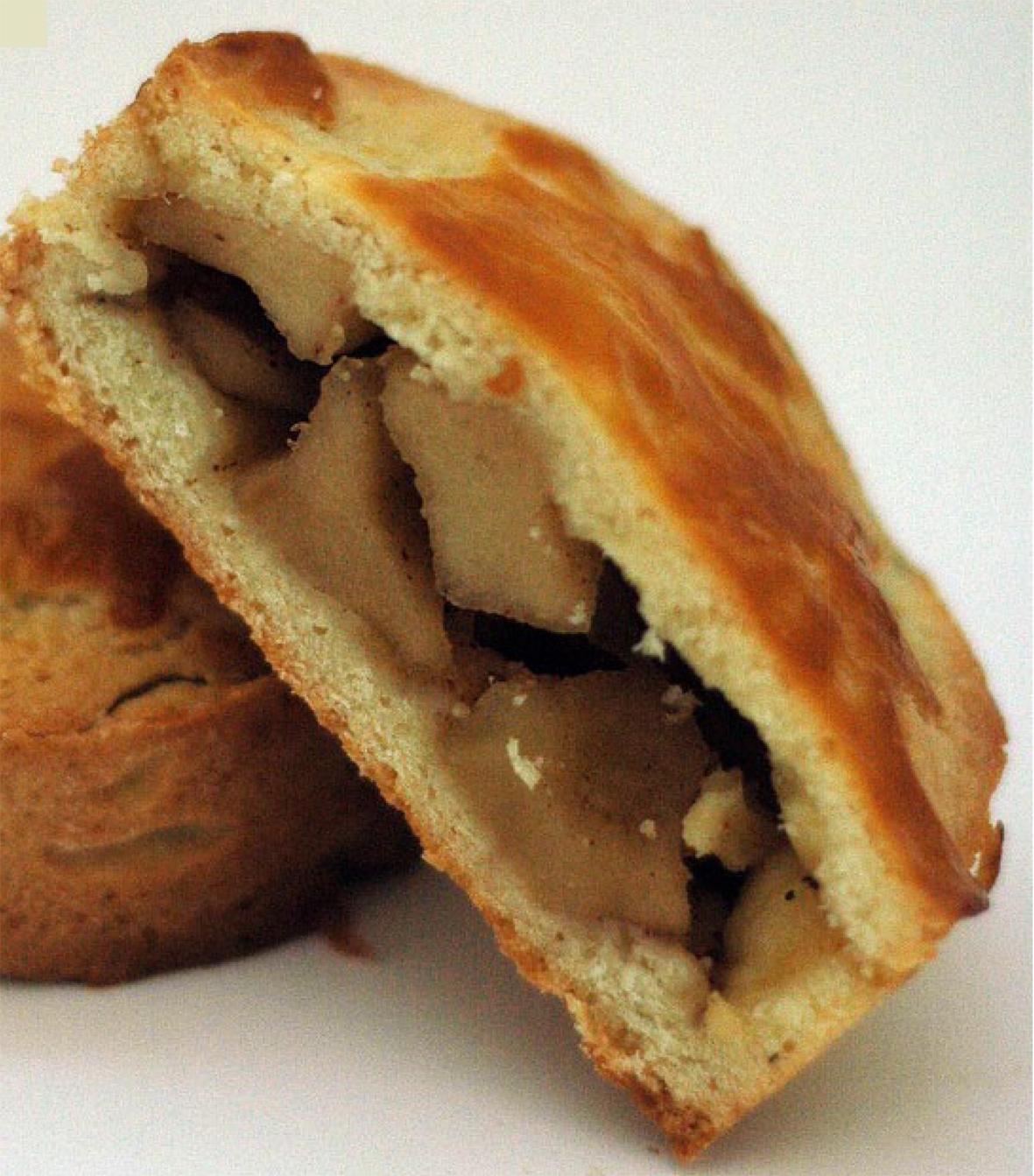 Fransız üsulu almalı keks (Qateau basque). Pirojna