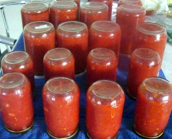 Qışlıq pomidor sosu necə hazırlanar?