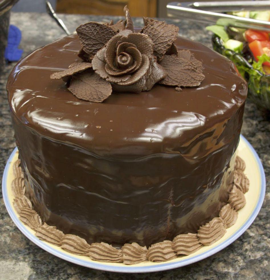 Şokoladlı tort üçün krem