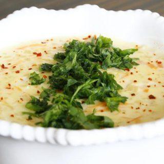 Südlü kartof şorbası