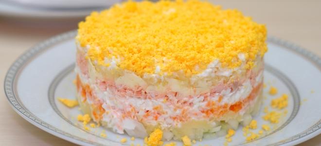mimoza salatı