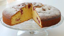 Vişnəli keks