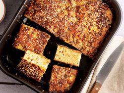Soğanlı kartoflu keks