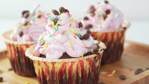 Krem Şantili Cupcake