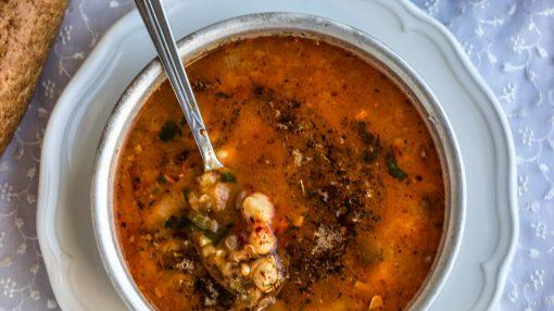 alaça(hədik) şorbası