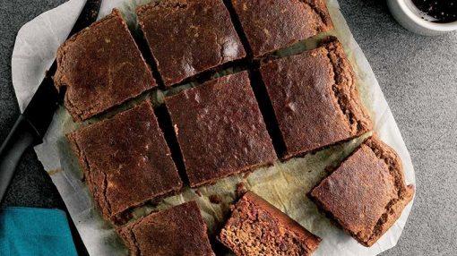 az kalorili unsuz və şəkərsiz keks