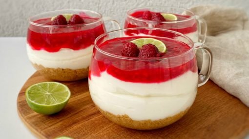 küpdə bişməyən-cheesecake